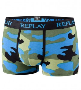 Boxer Replay pour Homme MARINE