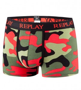Boxer Replay pour Homme ROUGE