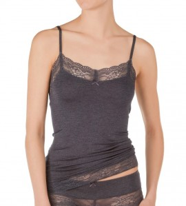 Top bretelles fines Liberty Lace ANTHRACITE 724