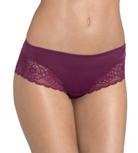 Shorty Amourette Spotlight femme PRUNE