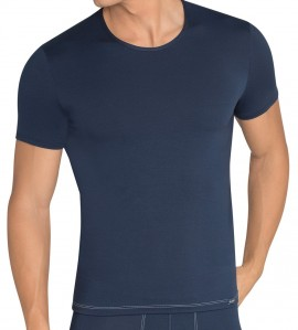 T-shirt sloggi men basic soft 80MARINE
