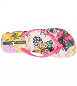 Paire de tongs I love Tribal ROSE
