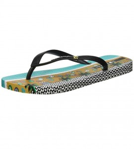 Paire de tongs I love Tribal NOIR