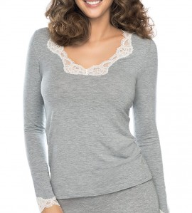 T-Shirt Simply Perfect GRIS