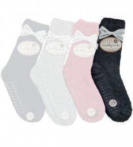 Chaussettes anti gliss Cuddly Socks ANTHRACI
