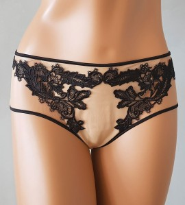 Shorty Transparence NOIR