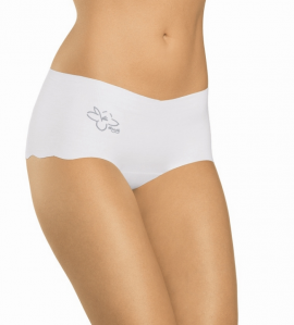 BOXER COTON INVISIBLE BLANC