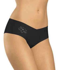 SHORTY COTON INVISIBLE NOIR