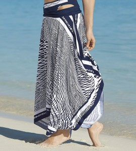 Robe/Jupe de plage Night Mesh MARINE