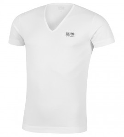 T-shirt col V Iker Casillas 01 BLANC