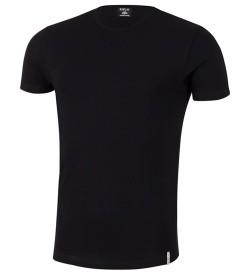 T-shirt manches courtes col rond 20 NOIR