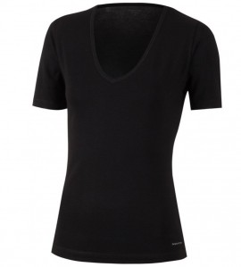 T-shirt manches courtes THERMO NOIR