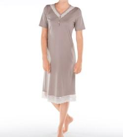 Chemise de nuit pour femme Almada TAUPE