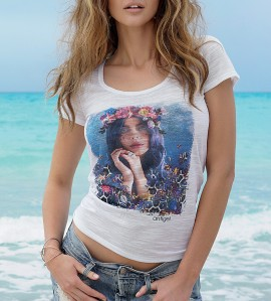 T-shirt La Coralienne MULTICOLOR