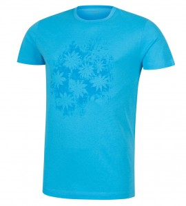T-shirt plage pour homme Summer TURQUOISE
