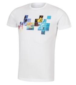 T-shirt plage pour homme Summer 01 BLANC