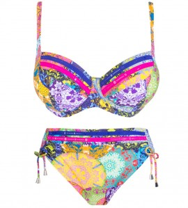 Maillot 2p corbeille fitting MULTICOLOR