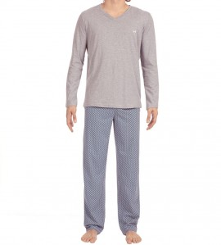 Pyjama long Santiago GRIS