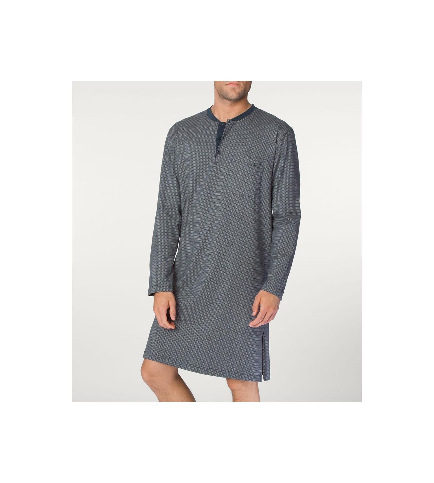 chemise de nuit bill pour homme 808 onyx lingerie sipp. Black Bedroom Furniture Sets. Home Design Ideas