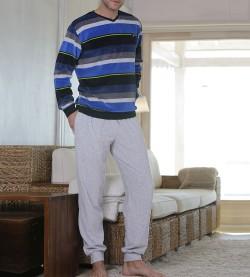 Pyjama raye pour homme CARBON
