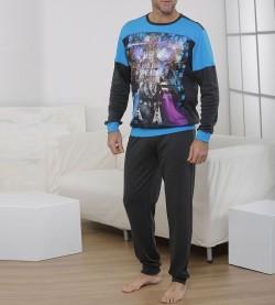 Pyjama pour Metal Head GRIS/TURQUOISE