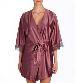 Déshabillé Kimono Dauphine VIOLINE