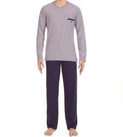 Pyjama long pour homme ZEN BLEU