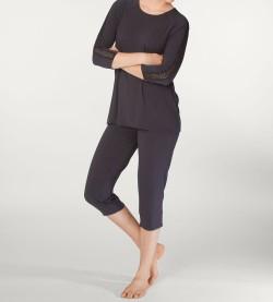 Pyjama femme en modal Eliza GRIS