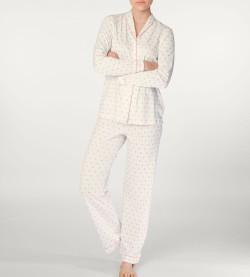 Pyjama boutonné Julianne 910 ECRU