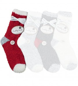 Chaussettes Cuddly Socks Alpen ROUGE