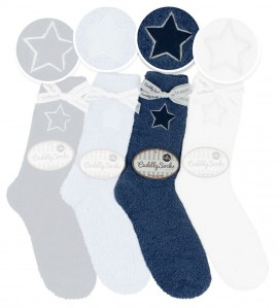 Chaussettes Cuddly Socks Blue Star BLEU