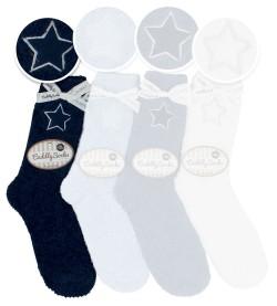 Chaussettes Cuddly Socks Blue Star MARINE