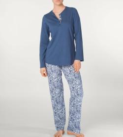 Pyjama pour femme en coton JEAN