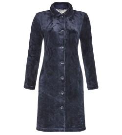 Robe de chambre femme relief coeurs MARINE