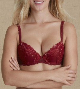 Soutien-gorge push-up Kiss ROUGE