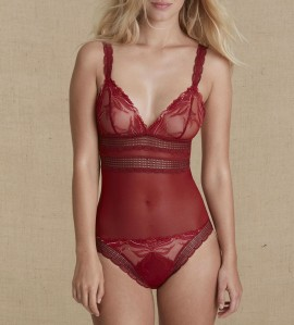 Body sans armatures Kiss ROUGE