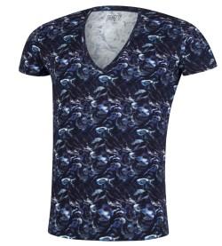 T-shirt Fungi pour homme NOIR BLEU