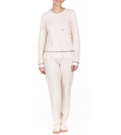 Pyjama pour femme imprimé panda ROSE