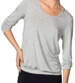 T-shirt manches 3/4 GRIS