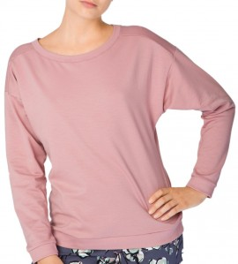 T-SHIRT MANCHES longues ROSE