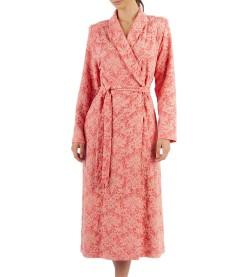 Robe de chambre croisée pour femme CORAIL