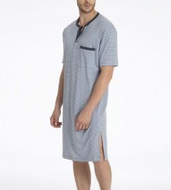Chemise de nuit Morris pour homme GRIS