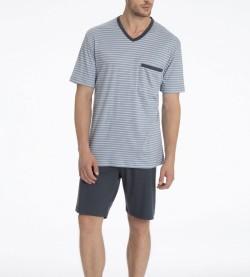 Pyjama short Morris pour homme GRIS 983