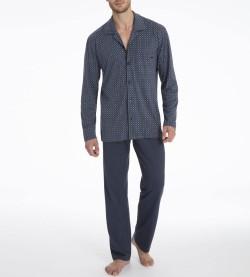 Pyjama long Larry pour homme MARINE 463