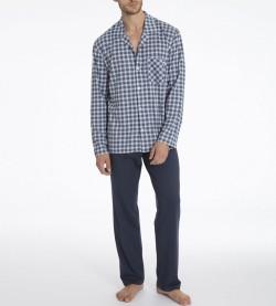 Pyjama long Larry pour homme MARINE 478