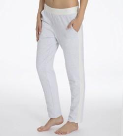 Pantalon long pour femme resseré GRIS CHINE 970