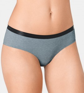 Shorty S by Sloggi Serenity GRIS NOIR M013