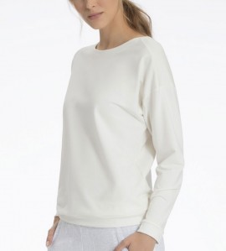 T-shirt manches longues pour femme ECRU 910