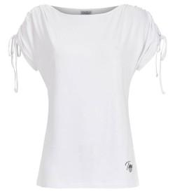 T-shirt manches courtes pour femme BLANC