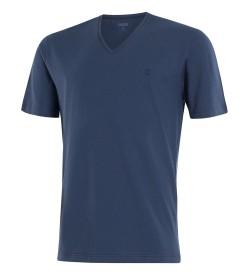 T-shirt coton manches courtes BLEU